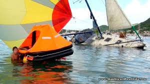was that sailboat sinks in simpson bay lagoon st martin