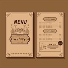 beer menu template symbols elements on dark background vectors