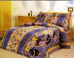 Echo Jaipur Comforter Indian Embroidered India Bedding Set Handmade Beautiful Queen Set