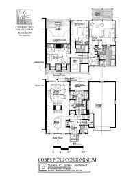 condominium plans steven c hayes apc cobbs pond plans description