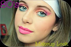 8o s 80 s makeup tutorial youtube