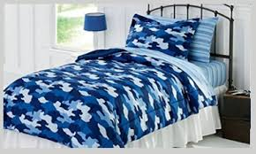 Design Camo Bedspread Ideas From Boys To Lads Blue Camo Beddings For All Ages