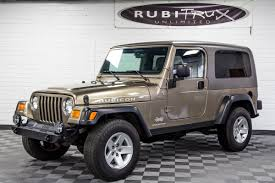 pre owned 2005 jeep wrangler lj rubicon
