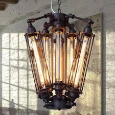 Chandelier Bulb Vintage Industrial Metal Steunk Chandelier Edison Bulb Pendant