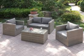 Outdoor Sofa Sets by 403 405 4 Pcs Outdoor Set 2colors Silver State Furniture