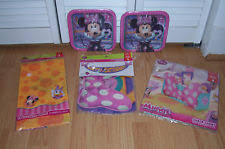 Minnie Mouse Table Covers Disney Minnie Mouse Table Party Decorations Ebay