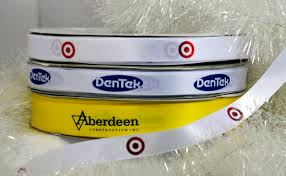 custom ribbon with logo custom ribbon more than a finishing touch for corporate gifts
