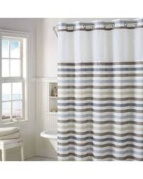 Stripe Shower Curtains Amazing Deal On Hookless Hampton Multi Striped Shower Curtain With