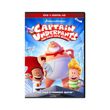 dreamworks captain underpants the first epic movie dvd dvd