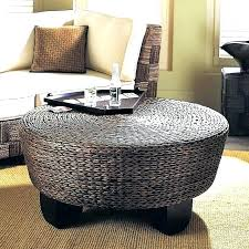 round upholstered coffee table round ottoman coffee table upholstered rachpower com