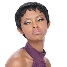 salt and pepper pixie cut human hair wigs outre 100 premium human hair duby wig pixie