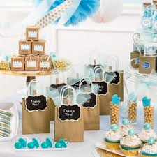 baby shower ideas for prince baby shower favor table idea party city