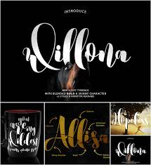 calligraphy font willona calligraphy font free