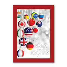 Christmas Cards Business International Christmas Cards Business Theme World Peace Greetings
