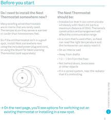 what you need to know about installing your nest thermostat nest