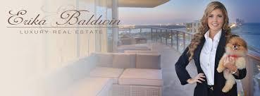high end real estate agent erika bakdwin real estate miami florida luxury real estate agent