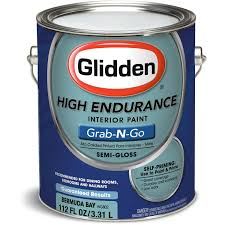 glidden high endurance grab n go interior paint semi gloss