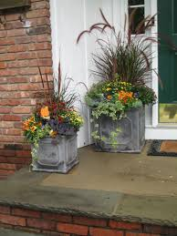 love these beautiful fall planters container gardening garden