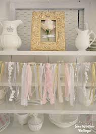 Bridal Shower Decoration Ideas by Pink And Gold Budget Bridal Shower Party Decorating Ideas Plus A