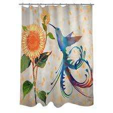Neutral Shower Curtain Hum Neutral Shower Curtain Free Shipping Today Overstock