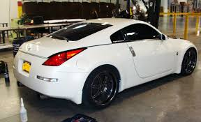 nissan 350z skin from polis miller decals provides advertising installation in great atlanta