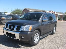lifted nissan armada photos nissan armada 5 6 4wd at 317 hp allauto biz