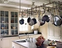 kitchen island with hanging pot rack kitchen island pot rack foter with 1 verdesmoke kitchen