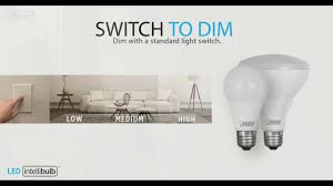 intellibulb switch to dim 3 different light levels in one bulb
