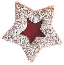 austrian linzer star cookies christmas cookies pinterest