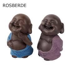home decor dropship aliexpress com buy dropship ceramic buddha statue purple painted