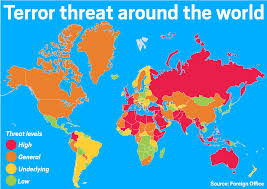 Iraq World Map by So Why Is It Safe To Holiday In The Wake Of The Tunisia Terror
