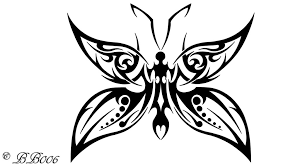 tribal butterfly 2 by blackbutterfly006 on deviantart