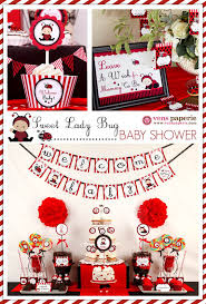ladybug baby shower ideas ladybug baby shower party favors ideas