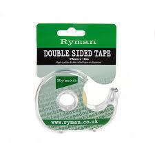 Desk Accessories Uk by Ryman Double Sided Tape 19mmx10m On Dispenser Tape Dispenser