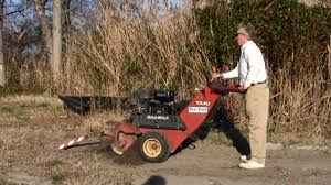 ditch witch 1030 trencher youtube