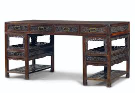 Chinese Desk A Very Rare Chinese Zitan Partner U0027s Desk Imperial Workshops
