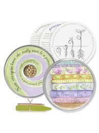 fairytale gardening kit for kids pea or bean