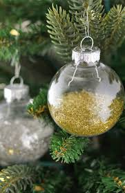 clear christmas ornaments clear glass ornament balls