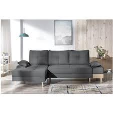 accoudoir canapé canape d angle convertible sven i gauche pieds et accoudoir en bois