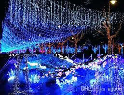 led light decorations outdoor drone fly tours