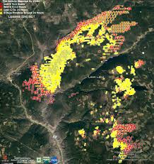 Usfs Fire Map Open Space Conservation Beaver Creek Fire Wildfire Today Creek