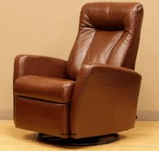 reclining swivel rocking chair barcalounger grissom ii swing glider recliner chair brown leather