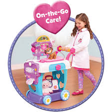 Doc Mcstuffins Home Decor Disney Doc Mcstuffins Hospital Care Cart Walmart Com