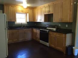 Paint Colors For Cabinets Paint Color Suggestions Maple Cabinets With Dark Counter