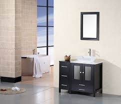 arlington 37 u2033 single sink vanity set in espresso design element