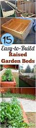 15 easy to make raised garden beds my list of lists