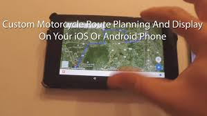 Map My Driving Route by Custom Motorcycle Map Route Planning And Creation On A Phone And