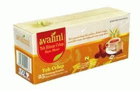 Teh Walini walini teh hitam celup black tea 25 ct 50gram 1 7 oz