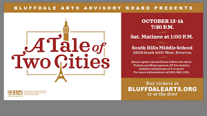 bluffdale arts council u0027s a tale of two cities is a charming and
