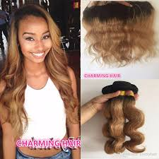 honey weave root honey hair weave 3 bundles with lace